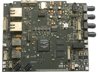 Control device for medical equipment with Altera SoC and Cyclone V FPGA